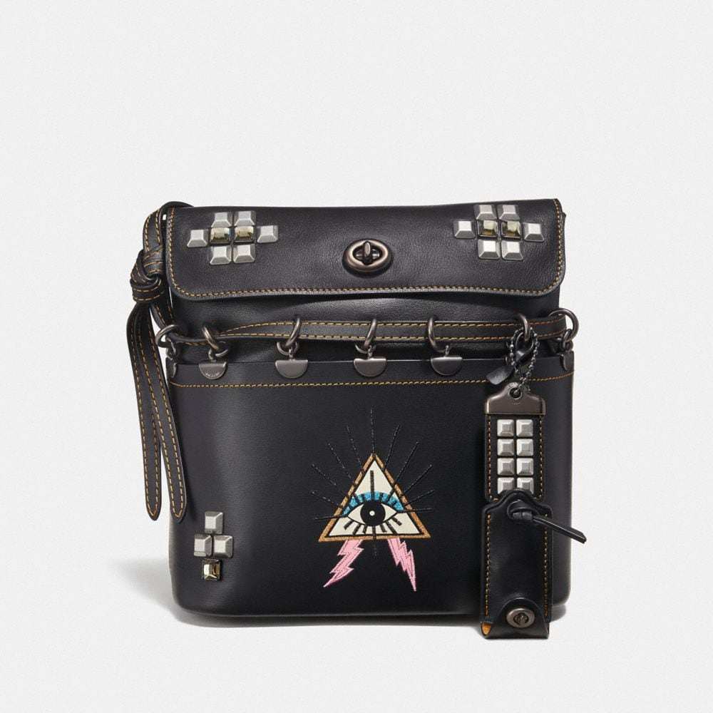 ROXIE BAG WITH PYRAMID EYE