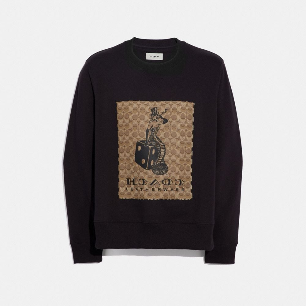 Coach Viper Room Signature Sweatshirt