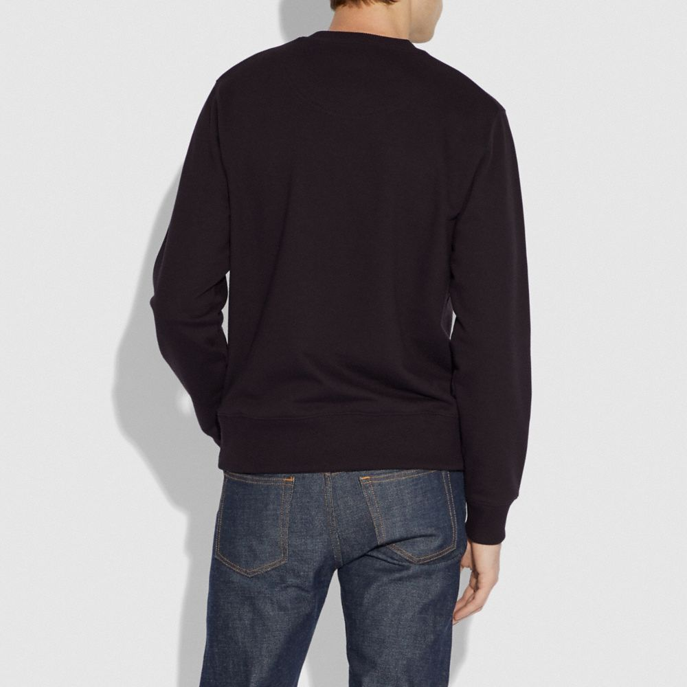 Coach Viper Room Signature Sweatshirt Alternate View 2