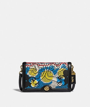 BOLSO BANDOLERA RILEY DISNEY MICKEY MOUSE X KEITH HARING