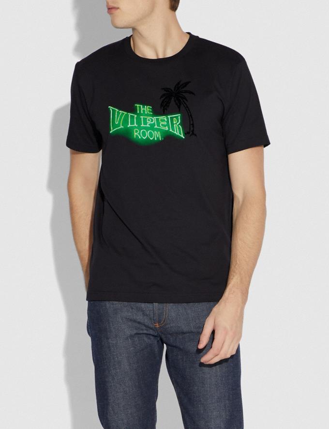 Coach Viper Room T-Shirt Dark Shadow Men Ready-to-Wear Tops & Bottoms Alternate View 1