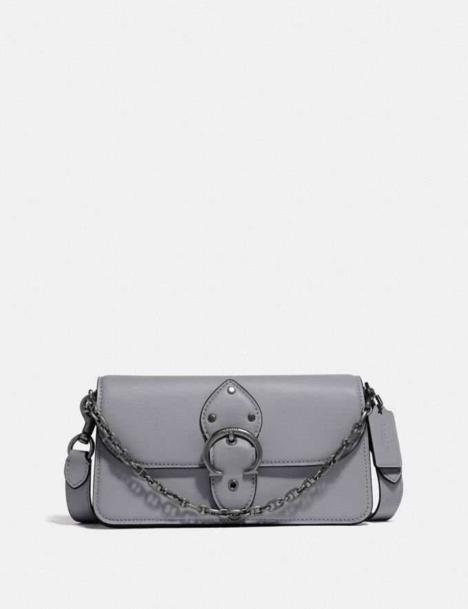 Coach Beat Crossbody Clutch V5/Granite New Women's New Arrivals Small Leather Goods
