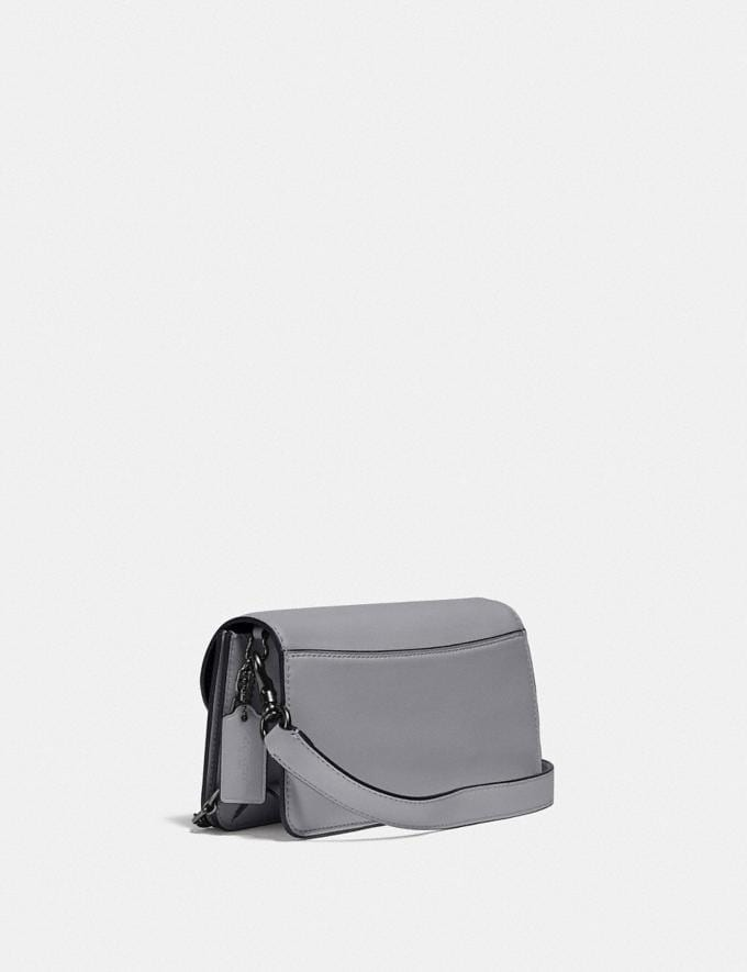 Coach Beat Crossbody Clutch V5/Granite New Women's New Arrivals Small Leather Goods Alternate View 1