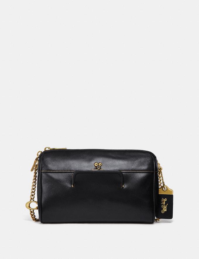 Coach Joni Crossbody Black/Brass New Women's New Arrivals Bags