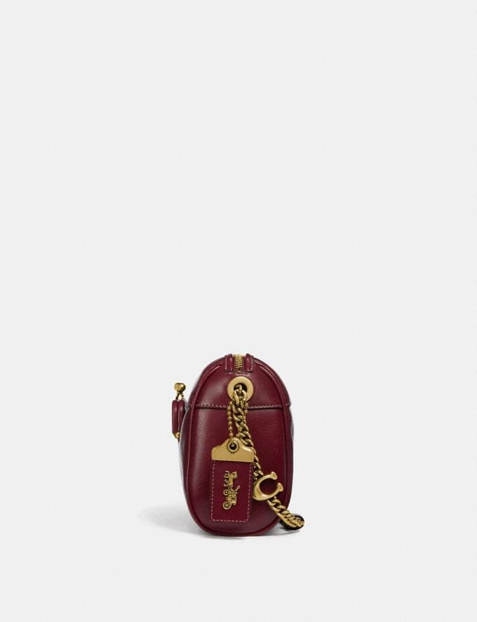 Coach Joni Crossbody Scarlet/Brass Personalise Personalise It Monogram For Her Alternate View 1