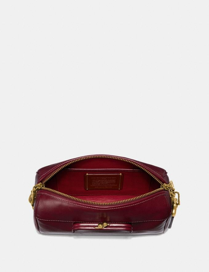 Coach Joni Crossbody Scarlet/Brass Personalise Personalise It Monogram For Her Alternate View 2
