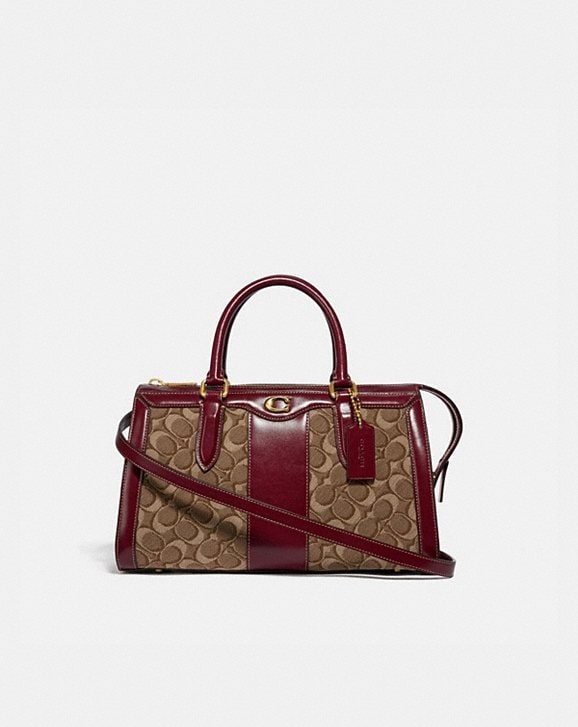 Coach BOND BAG IN SIGNATURE JACQUARD
