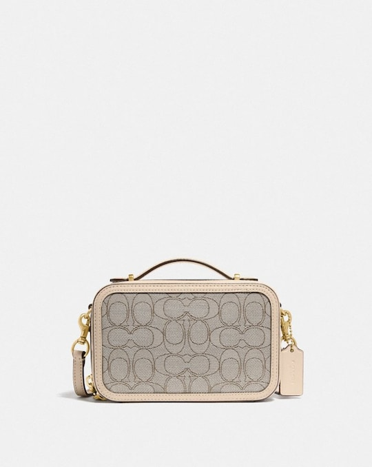 ALIE BELT BAG IN SIGNATURE JACQUARD