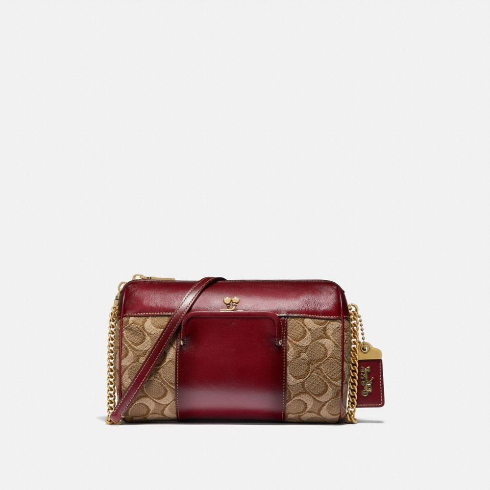 JONI CROSSBODY IN SIGNATURE JACQUARD