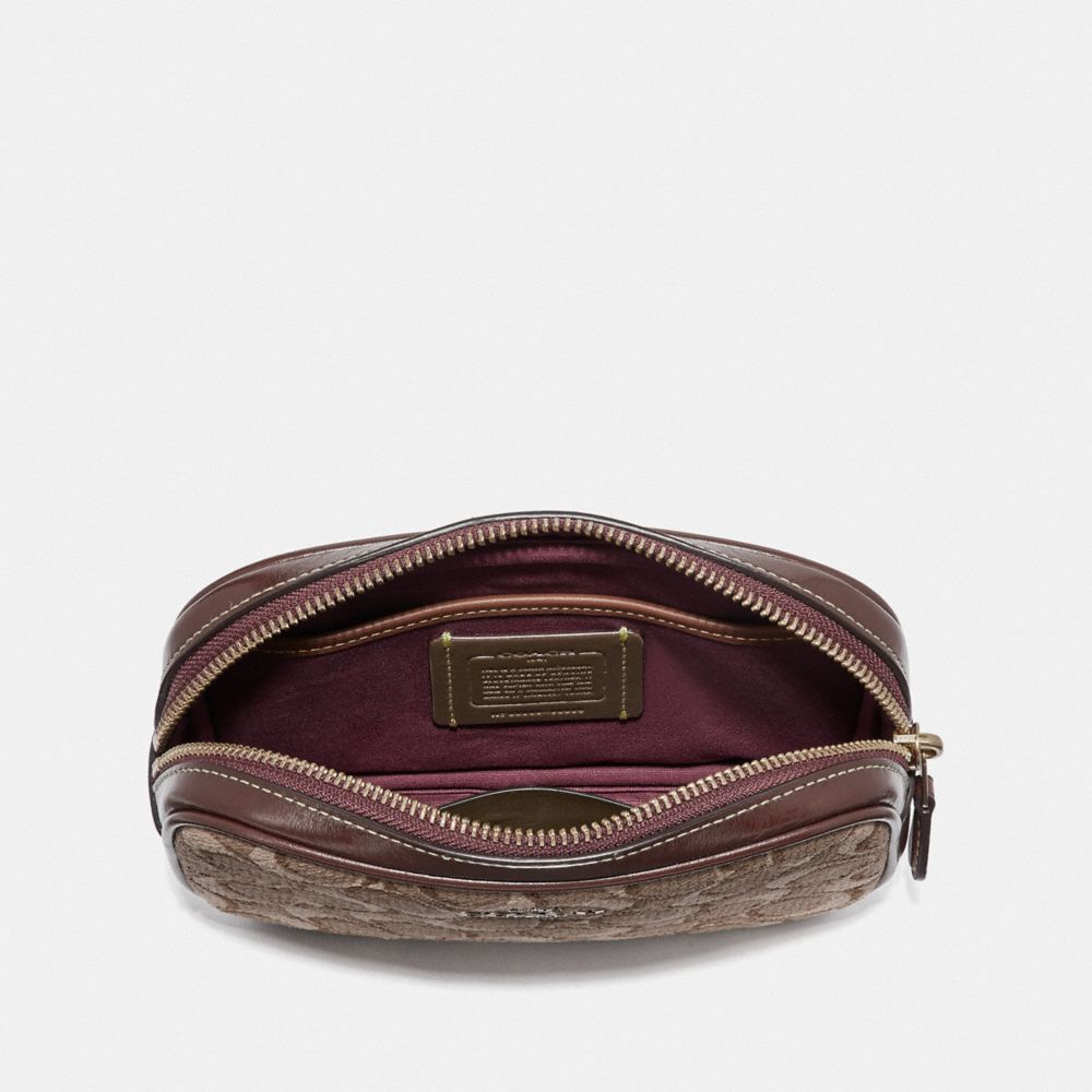 Coach Belt Bag in Signature Jacquard Alternate View 2