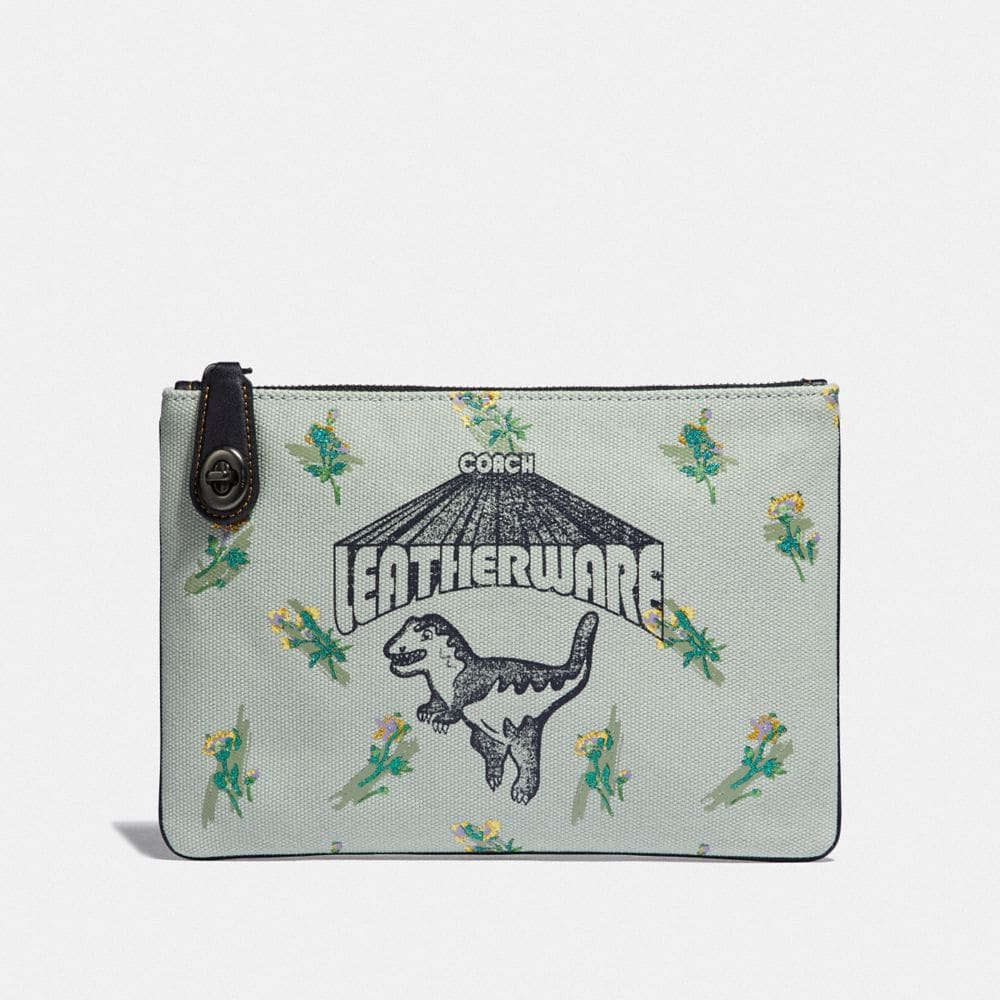 Coach Turnlock Pouch 26 With Rexy