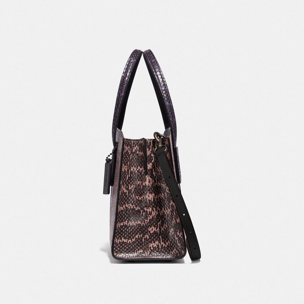 Coach Charlie Carryall 28 in Ombre Snakeskin Alternate View 1