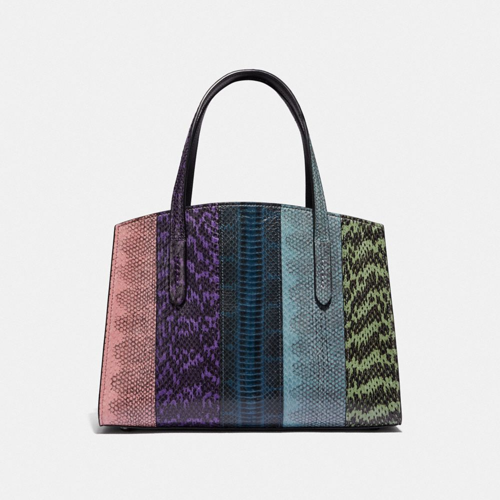 Coach Charlie Carryall 28 in Ombre Snakeskin Alternate View 2