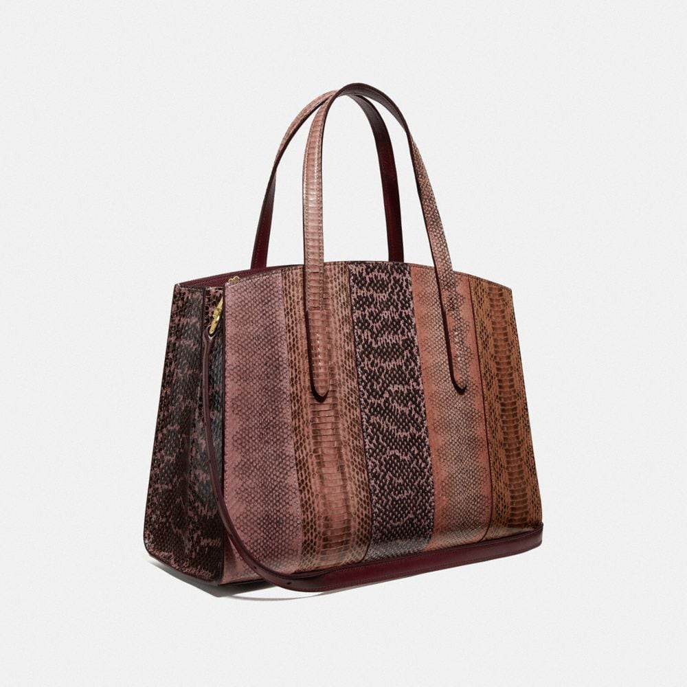 Coach Charlie Carryall in Ombre Snakeskin Alternate View 1