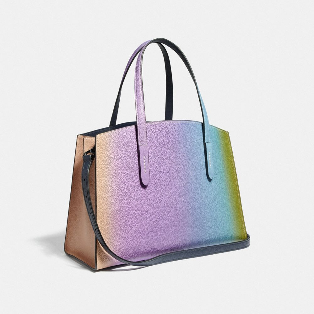 Coach Charlie Carryall With Ombre Alternate View 1