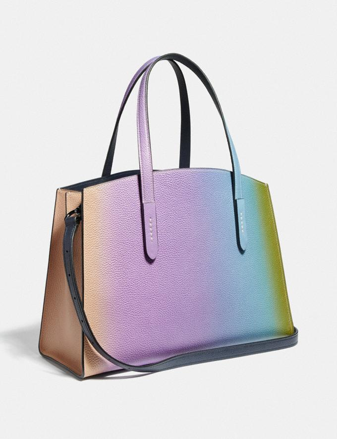 Coach Charlie Carryall With Ombre Multicolor/Gunmetal VIP SALE Women's Sale Bags Alternate View 1
