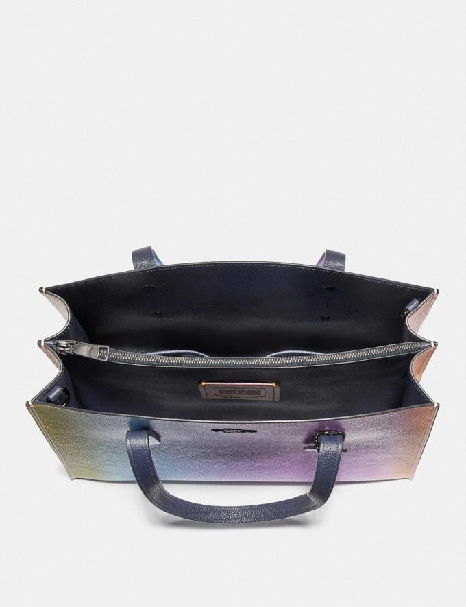 Coach Charlie Carryall With Ombre Multicolor/Gunmetal VIP SALE Women's Sale Bags Alternate View 2