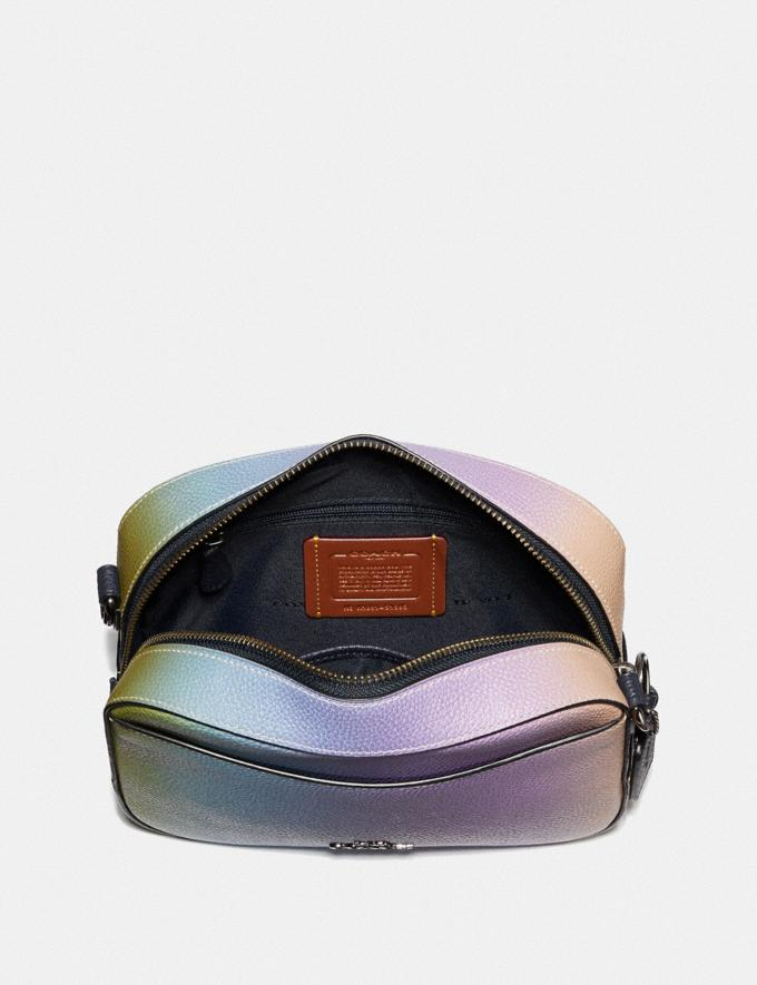 2c3699af0 Coach Camera Bag With Ombre Multicolor/Gunmetal Women Bags Crossbody Bags  Alternate View 2