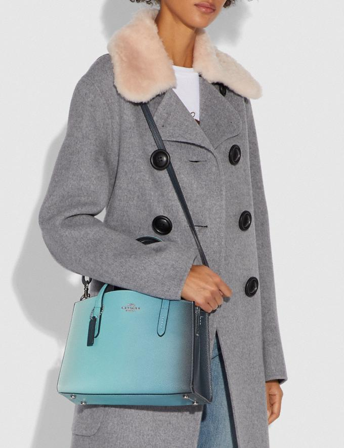 Coach Charlie Carryall 28 With Ombre Silver/Blue New Women's New Arrivals View All Alternate View 5
