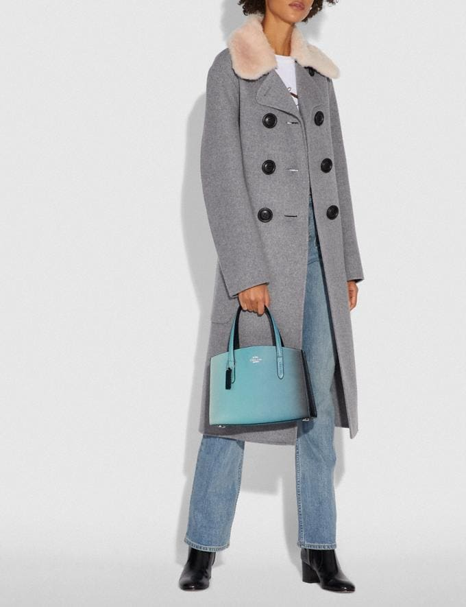 Coach Charlie Carryall 28 With Ombre Silver/Blue New Women's New Arrivals View All Alternate View 6