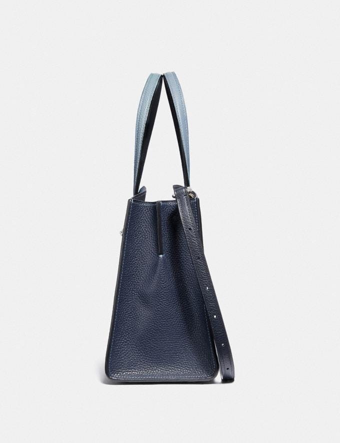 Coach Charlie Carryall 28 With Ombre Silver/Blue New Women's New Arrivals View All Alternate View 1