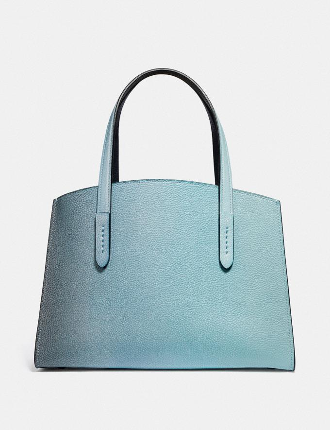 Coach Charlie Carryall 28 With Ombre Silver/Blue New Women's New Arrivals View All Alternate View 2