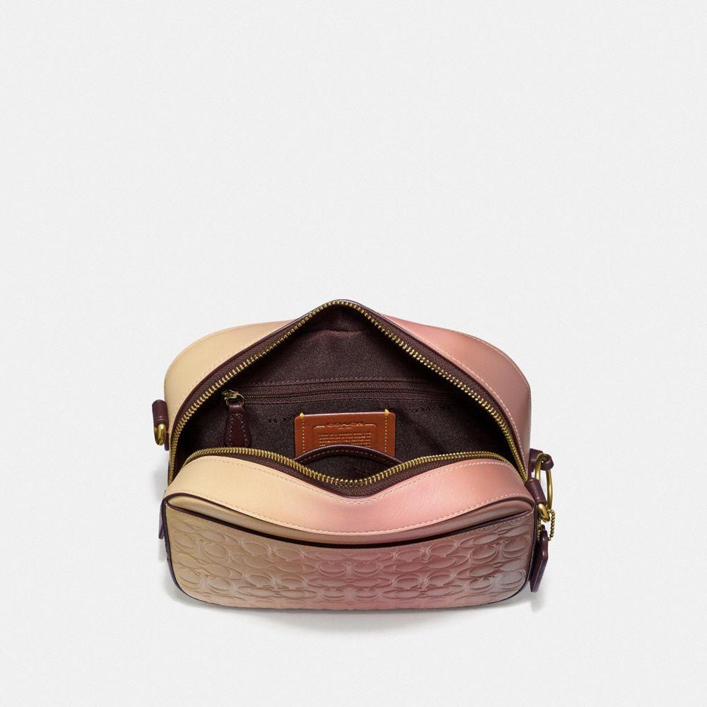 Coach Camera Bag in Ombre Signature Leather Alternate View 3
