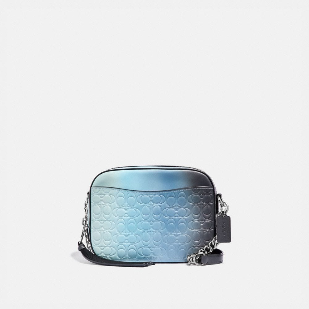 Coach Camera Bag in Ombre Signature Leather