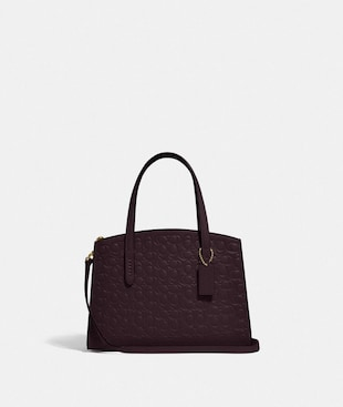 CHARLIE CARRYALL 28 IN SIGNATURE LEATHER
