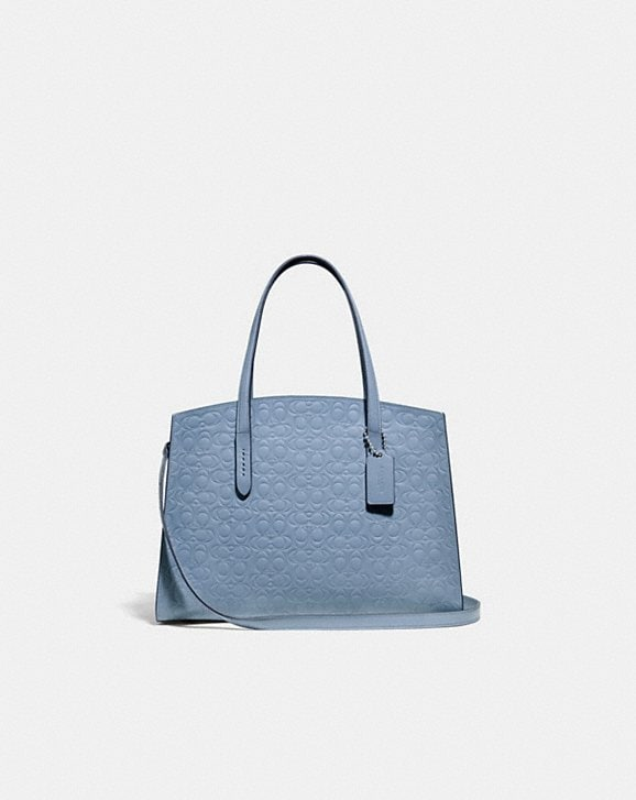 Coach CHARLIE CARRYALL IN SIGNATURE LEATHER