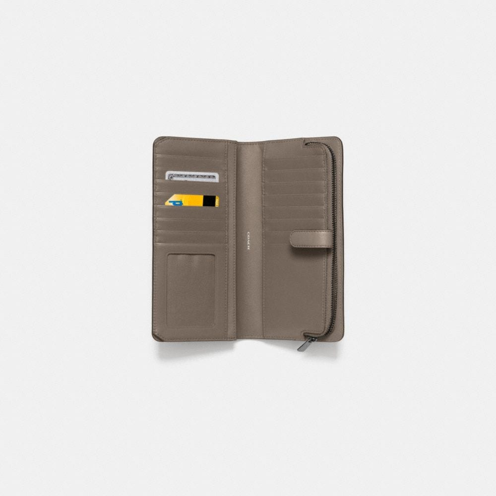 SKINNY WALLET IN LEATHER - Alternate View L1