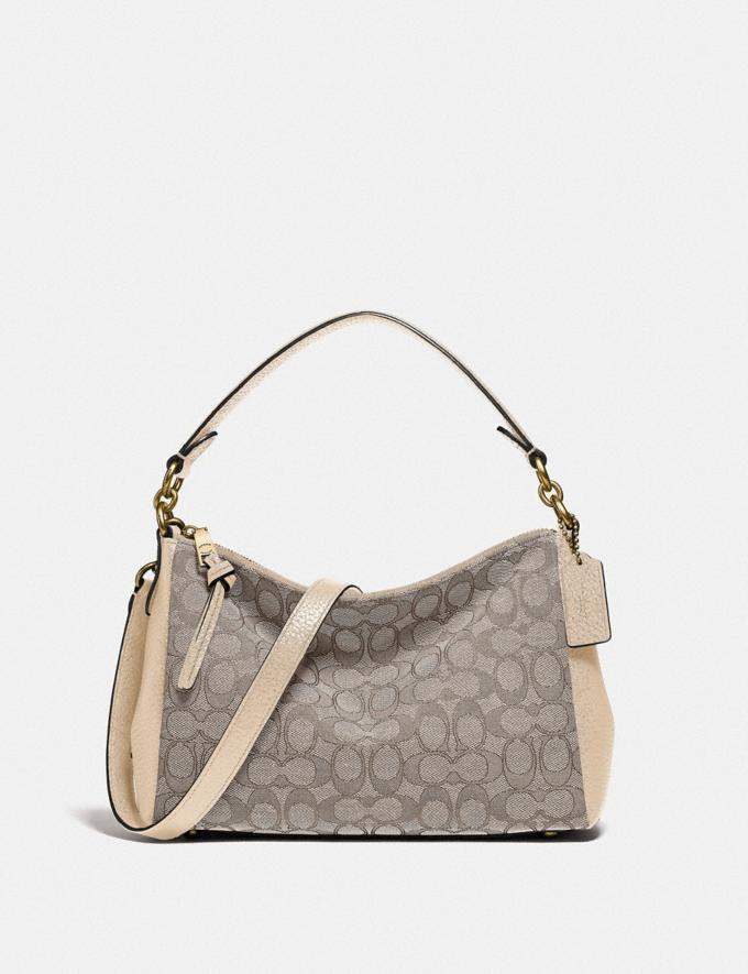 Coach Shay Crossbody in Signature Jacquard B4/Stone Ivory