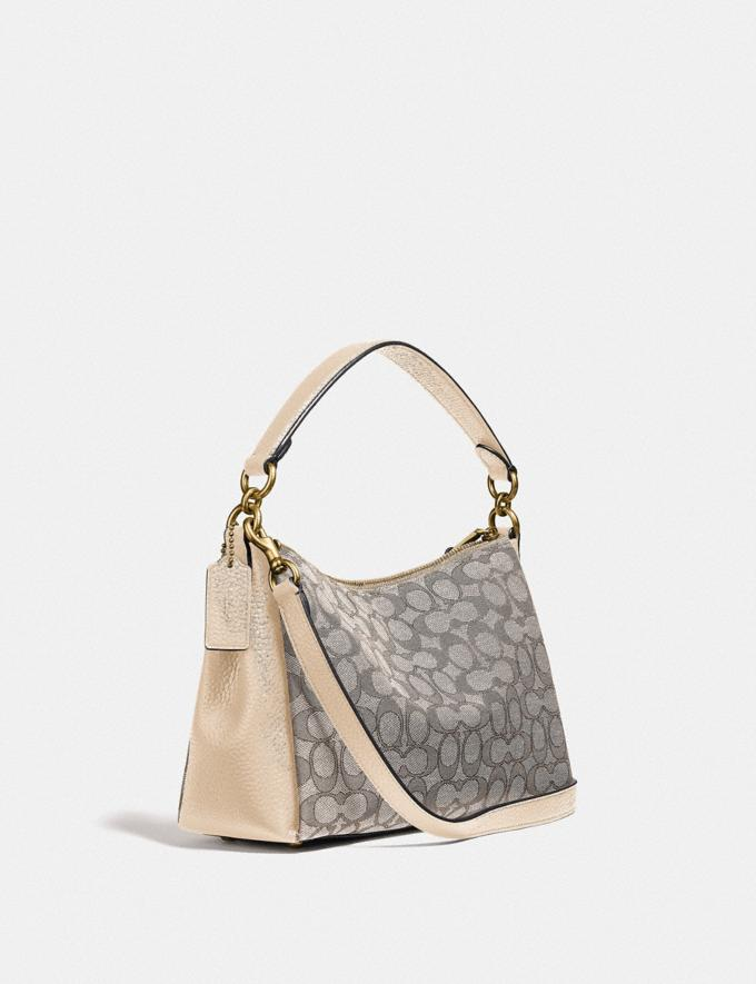 Coach Shay Crossbody in Signature Jacquard B4/Stone Ivory  Alternate View 1