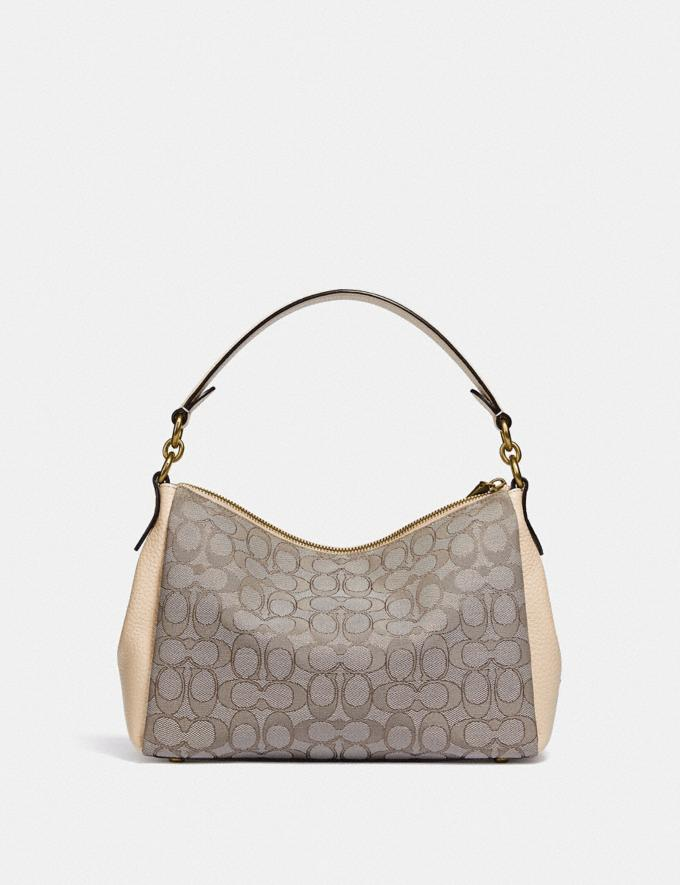 Coach Shay Crossbody in Signature Jacquard B4/Stone Ivory  Alternate View 2