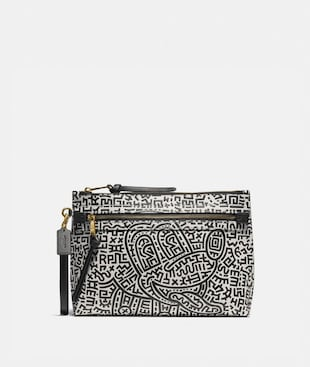 DISNEY MICKEY MOUSE X KEITH HARING ACADEMY BEUTEL