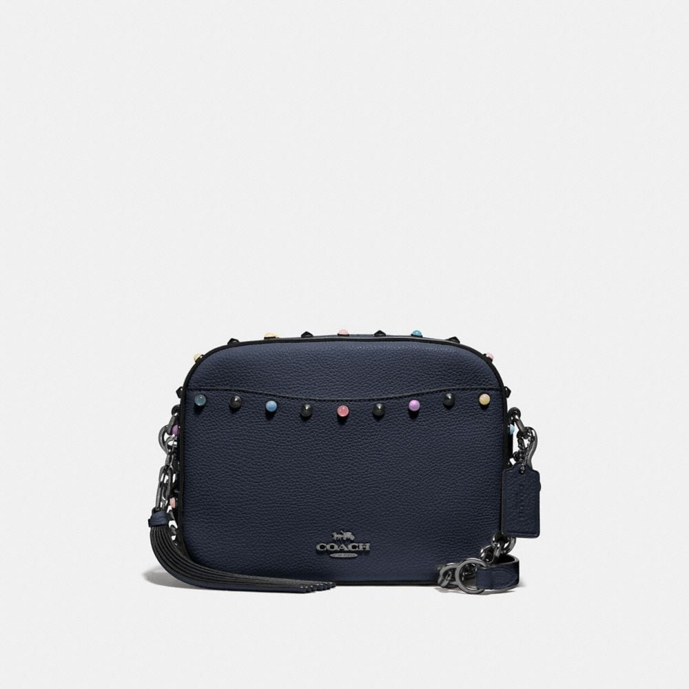 CAMERA BAG WITH RIVETS