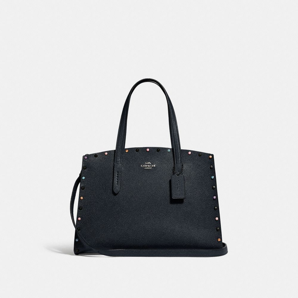 Coach Charlie Carryall With Rivets