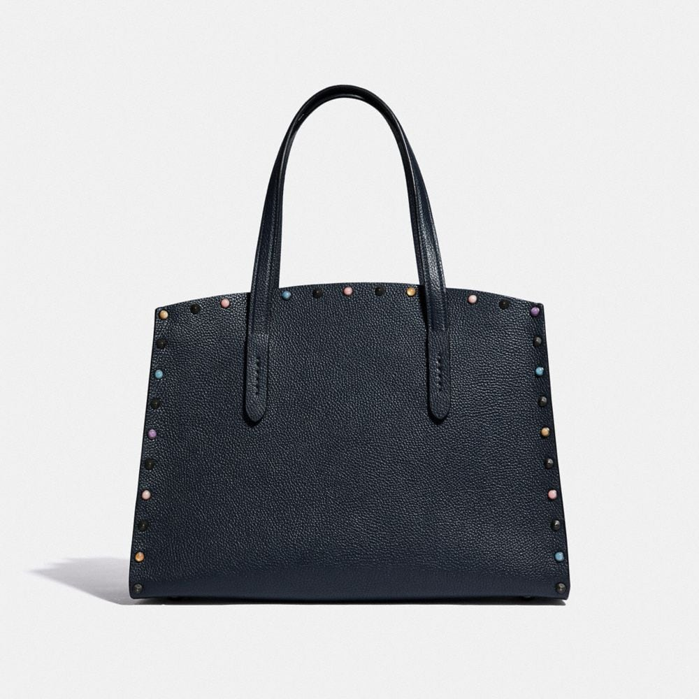 Coach Charlie Carryall With Rivets Alternate View 2