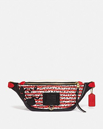 disney mickey mouse x keith haring rivington belt bag