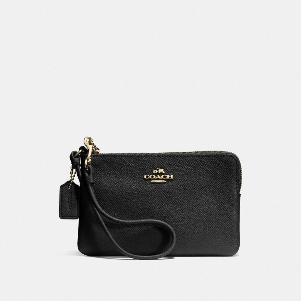 Coach Small Corner Zip Wristlet