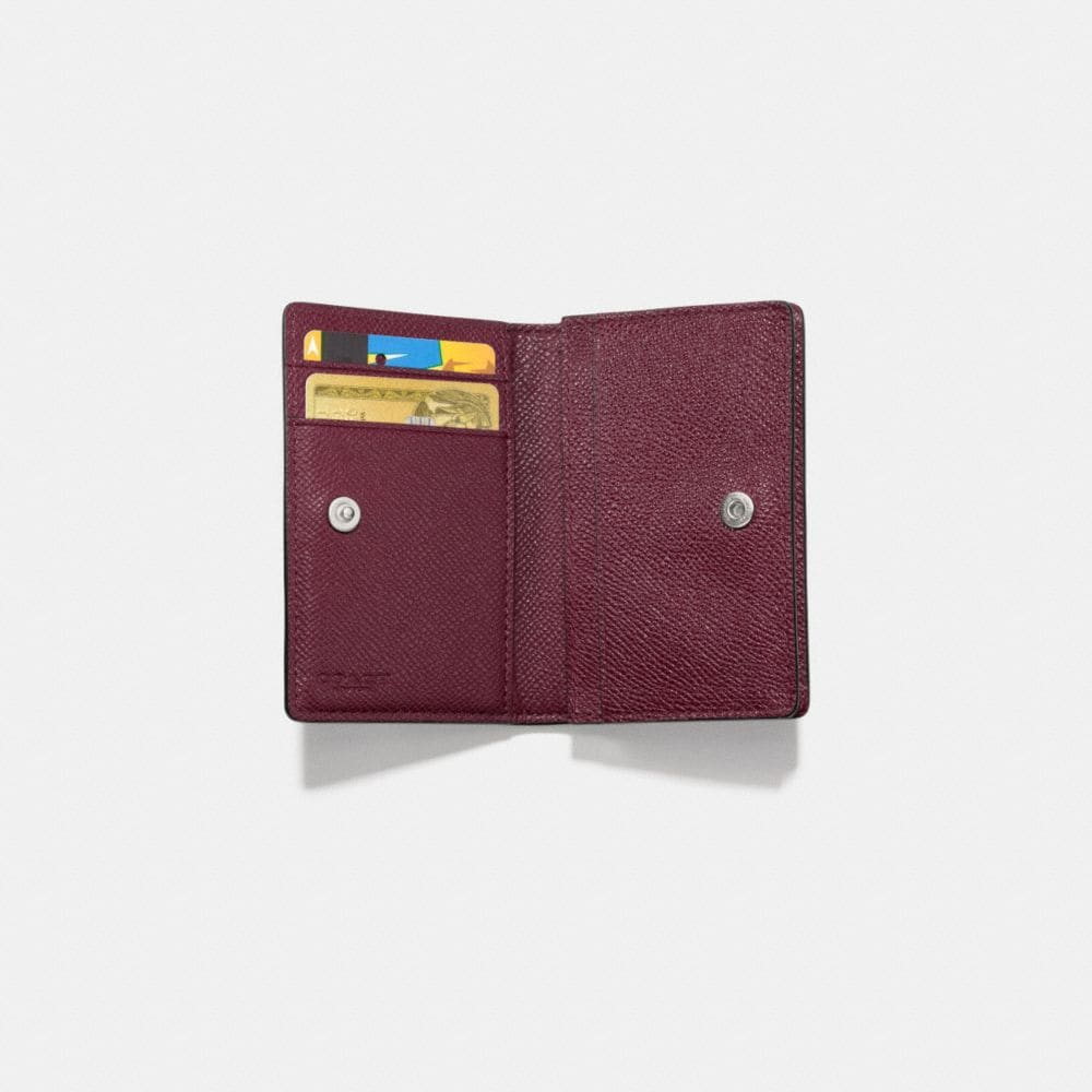 Business Card Case in Crossgrain Leather - Alternate View L1