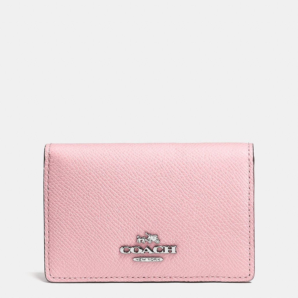 Coach designer accessories business card case in for Business card holder coach