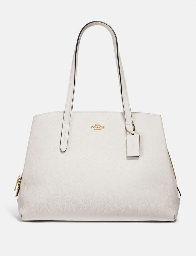 Coach Charlie Carryall 40 Gold/Chalk