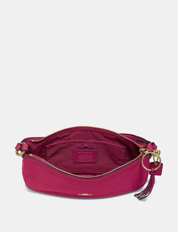 Coach Sutton Crossbody Bright Cherry/Gold Women Bags View All Alternate View 2