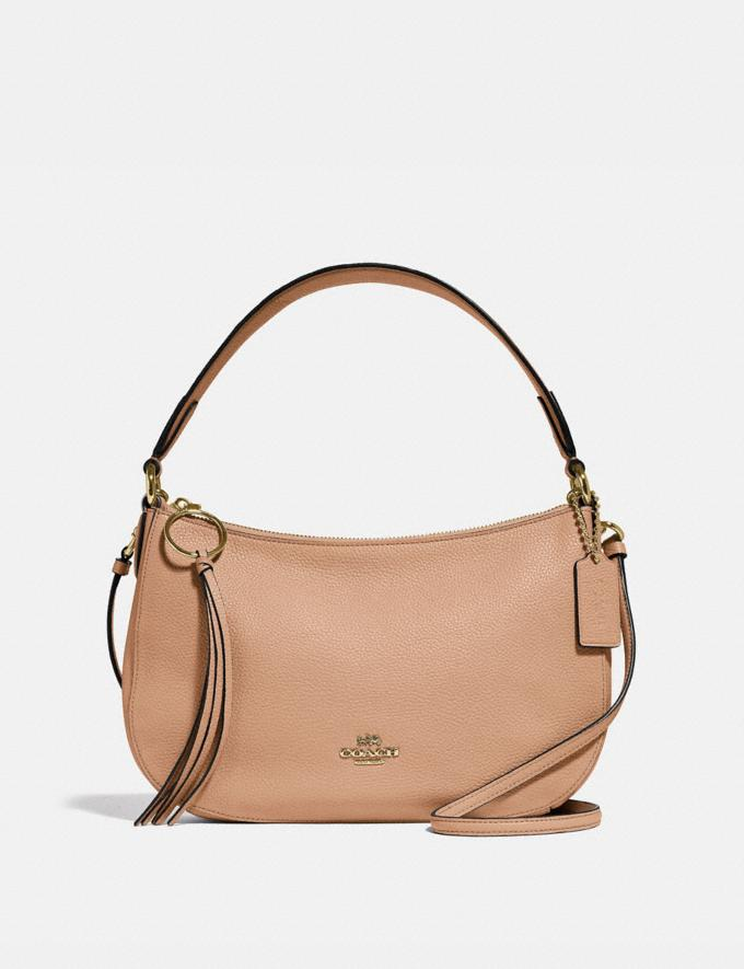 Coach Sutton Crossbody Gold/Beechwood SALE Women's Sale
