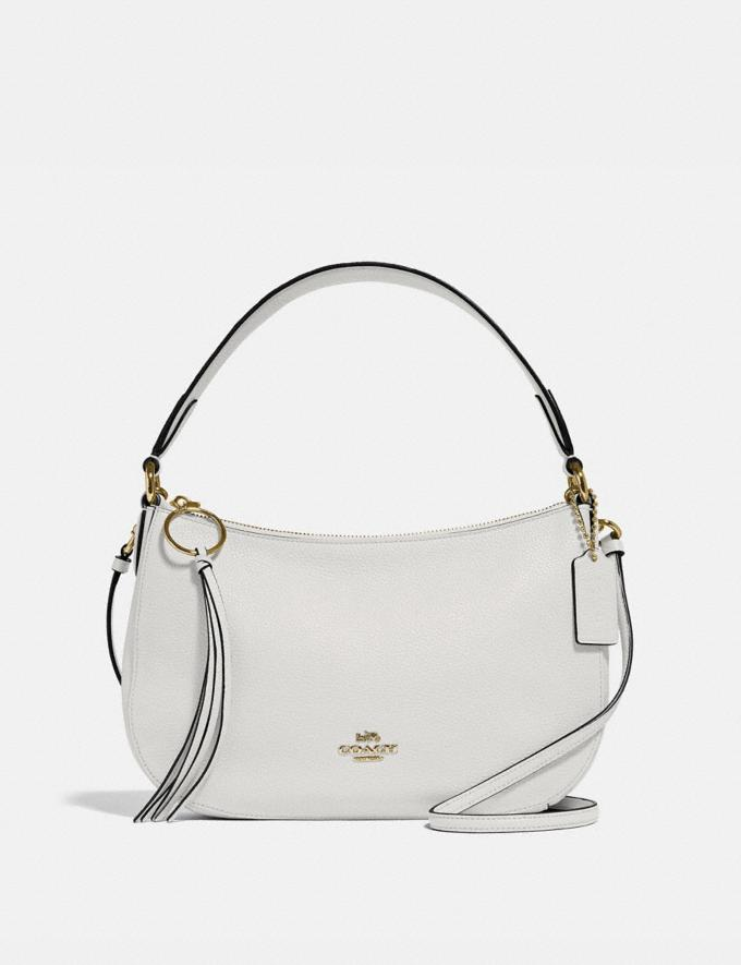 Coach Sutton Crossbody Chalk/Gold New Women's New Arrivals