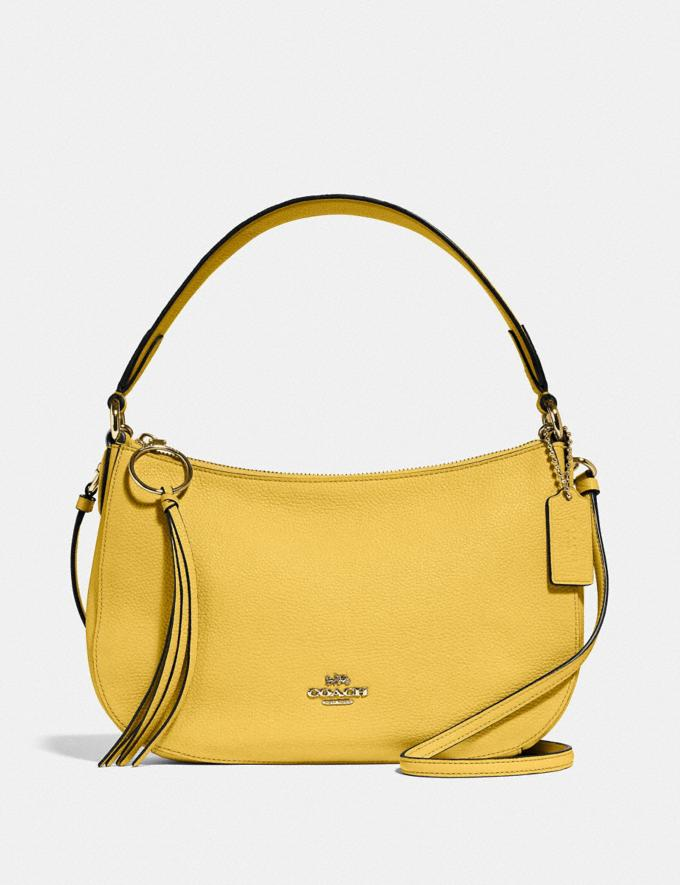 Coach Sutton Crossbody Gd/Sunlight New Women's New Arrivals