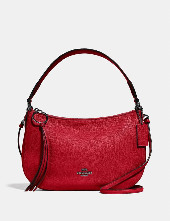 Coach Sutton Crossbody Red Women Bags Crossbody Bags