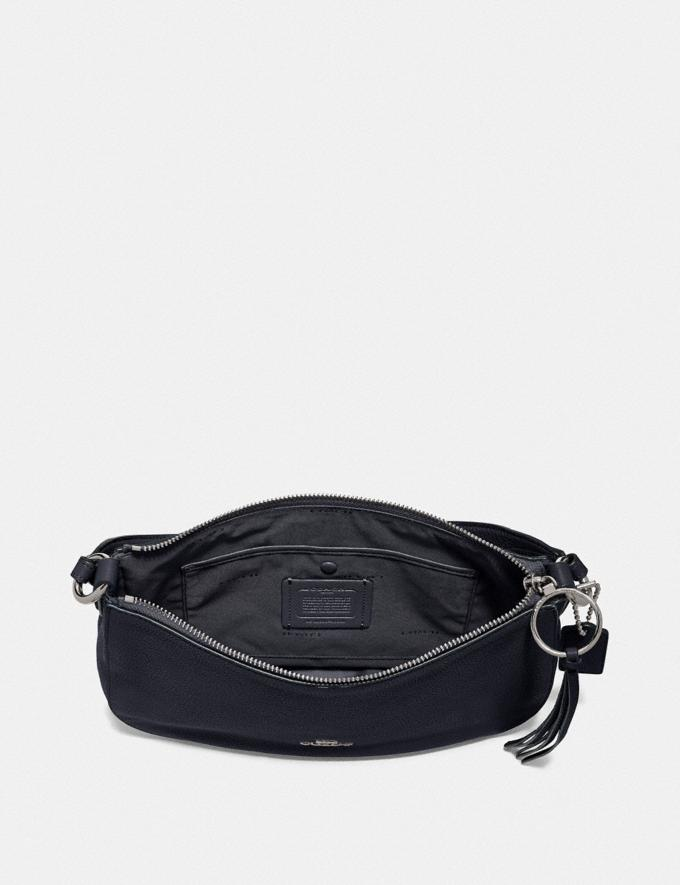 Coach Sutton Crossbody Sv/Midnight Navy Women Bags Crossbody Bags Alternate View 2