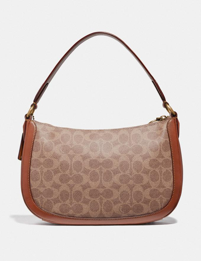 Coach Sutton Crossbody in Signature Canvas Tan/Rust/Brass Gifts For Her Alternate View 2